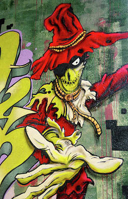 Photograph - Mr. Graffiti by Juergen Weiss