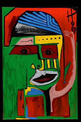 Painting - Mr. Green 36x24 by Hans Magden