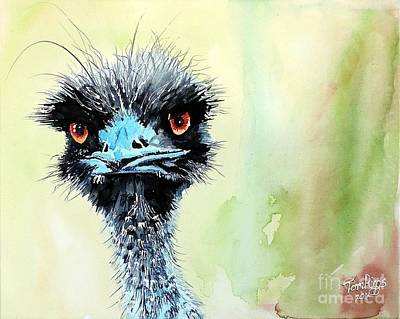 Painting - Mr. Grumpy by Tom Riggs