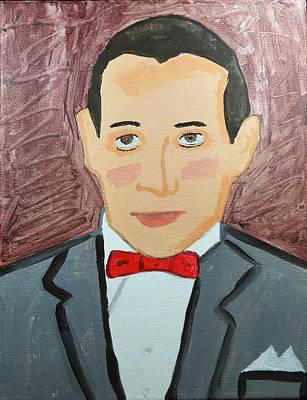 Pee Wee Herman Painting - Mr. Herman by John Morrison