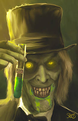 Mr Hyde Mark Spears Monsters Art Print