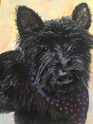 Sottish Painting - Sir Kilts by Joyce Spencer