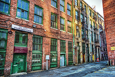 Photograph - Mr King Furniture Alley In Birmingham Alabama by Michael Thomas