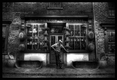 Photograph - Mr Langston's Hardware Shop by Yhun Suarez