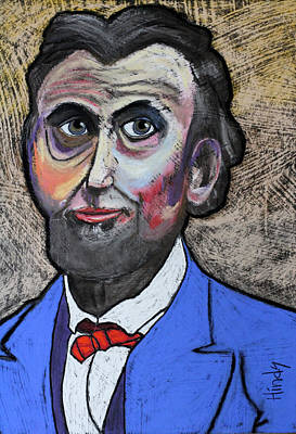 Abraham Lincoln Pastel - Mister Lincoln by David Hinds