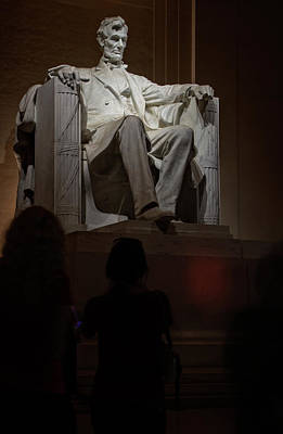 Photograph - Mr Lincoln In His Chair by Chrystal Mimbs