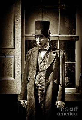 Photograph - Mr Lincoln by Paul W Faust - Impressions of Light