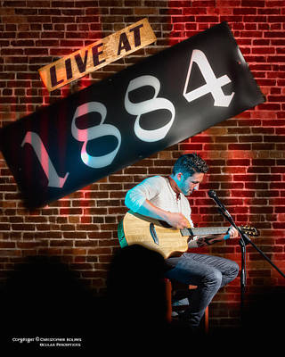 Photograph - Mr Live At 1884 by Christopher Holmes