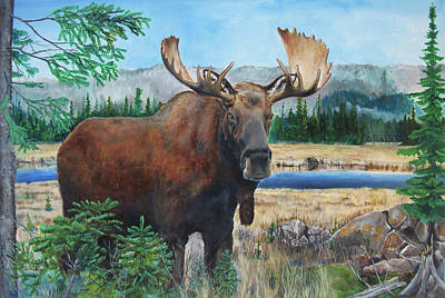 Painting - Mr. Majestic by Joe Baltich