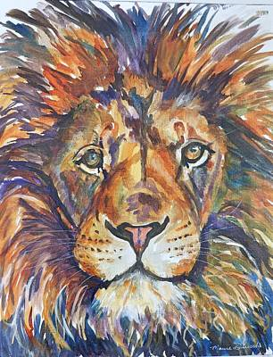 Painting - Mr Majestic by P Maure Bausch