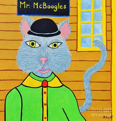 Painting - Mr. Mcboogles by Reb Frost