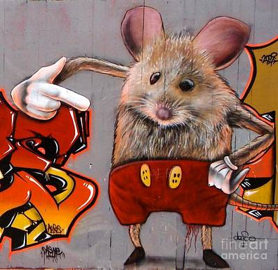 Painting - Mr Mouse by Louise Fahy