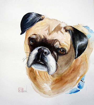 Painting - Mr. Muggs by Patricia Ragone
