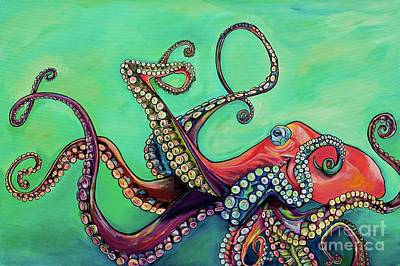 Painting - Mr Octopus by Patti Schermerhorn