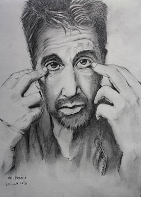 Mr. Pacino Art Print by Ted Castor