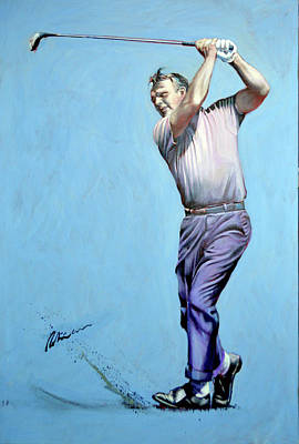 Painting - Mr Palmer by Mark Robinson