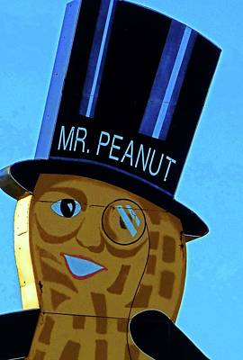 Mr Peanut 2 Art Print