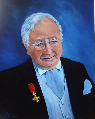 Painting - Councilor Mr Peritt by Jean Walker