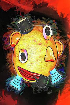 Digital Art - Mr Picasso Head by John Haldane