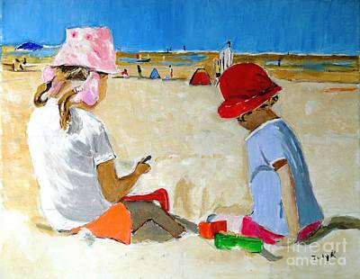 Painting - Mr. Sandman by Judy Kay