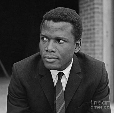 Black History Painting - Mr. Sidney Poitier by Pd