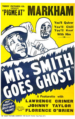 African-american Mixed Media - Mr Smith Goes Ghost 1939 by Mountain Dreams