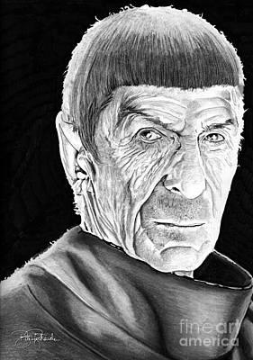 Mr Spock Original by Bill Richards