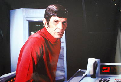 Tv Commercials Photograph - Mr. Spock by Roy Emmett
