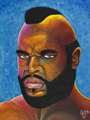 Mr. T Got Robbed Fool Art Print by Chris  Fifty-one