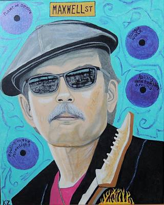 Painting - Mr. Triple Threat,studebaker John. by Ken Zabel