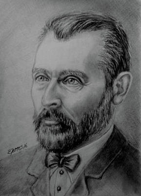 Drawing - Vincent by Edgar Torres