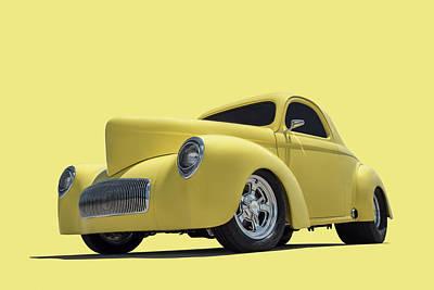 Digital Art - Mr Willys 2 by Douglas Pittman