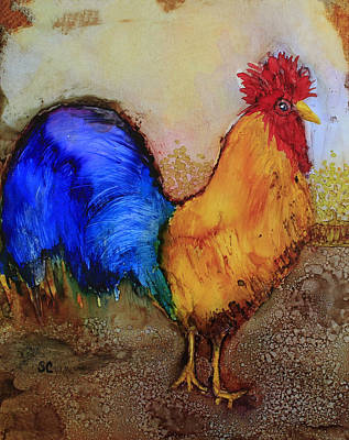 Painting - Mr.rooster by Suzanne Canner