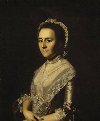 Mrs Alexander Cumming Art Print by John Singleton Copley