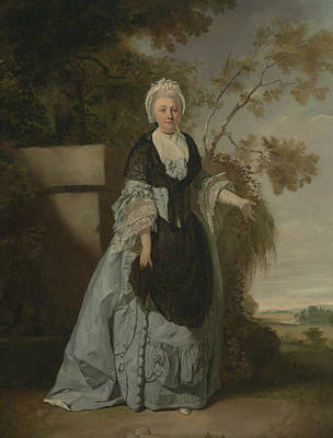 Painting - Mrs. Bentley by Francis Wheatley