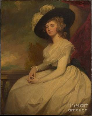 Romney Painting - Mrs. Bryan Cooke by Celestial Images