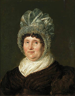 Painting - Mrs Clare by John Linnell