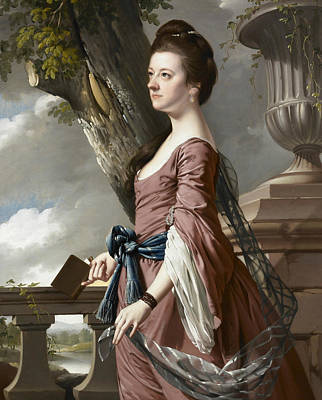 Painting - Mrs Frances Hesketh by Joseph Wright