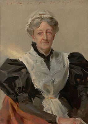 Housewife Painting - Mrs Frederick Mead by Mountain Dreams