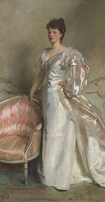 Stylish Painting - Mrs George Swinton  Elizabeth Ebsworth by John Singer Sargent