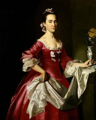 Singleton Painting - Mrs. George Watson by John Singleton Copley