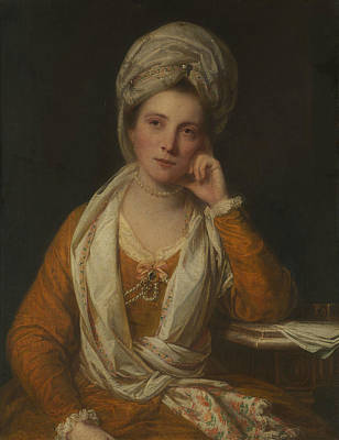 Painting - Mrs. Horton, Later Viscountess Maynard by Joshua Reynolds