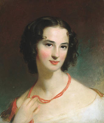 Painting - Mrs. James Montgomery, Jr. by Thomas Sully