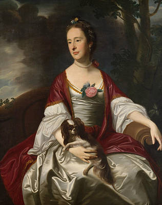Painting - Mrs. Jerathmael Bowers by John Singleton Copley