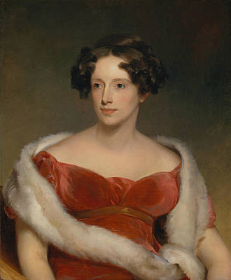 Painting - Mrs. John Biddle  by Thomas Sully