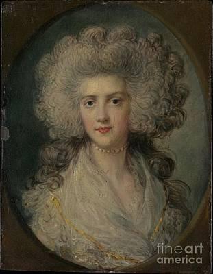 Sudbury Painting - Mrs. John Puget by Celestial Images