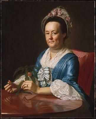 Mrs John Winthrop Original by John Singleton Copley