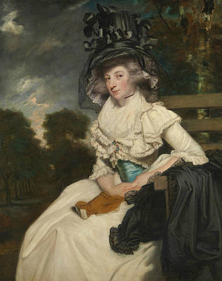Painting - Mrs. Lewis Thomas Watson  by Joshua Reynolds