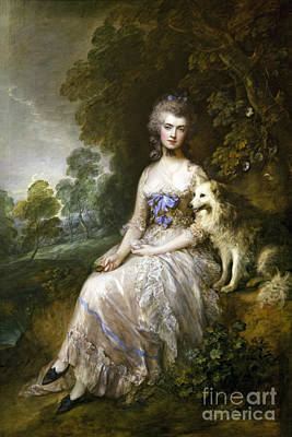 Perdita Photograph - Mrs Mary Perdita Robinson  by Sir Thomas Gainsborough