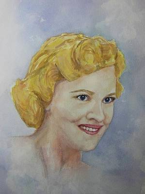 Painting - Mrs. Morin by Barbara McGeachen